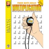 Timed Math Drills, Multiplication