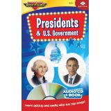 Presidents & U.S. Government Book & CD