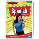 Rock 'N Learn® Spanish DVD Volume I and Volume II