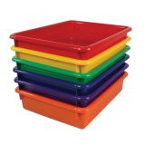 3 Stowaway® Letter Tray, Orange