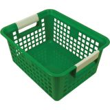 Tattle® Book Basket with Label Holder, Green