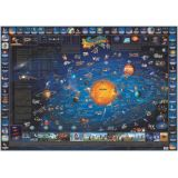 Dino's Children's Illustrated Map, Map of the Solar System