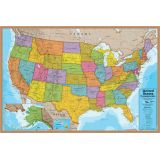 United States Map International 500-Piece Jigsaw Puzzle