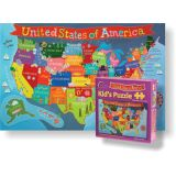 Kid's Jigsaw Puzzle, United States