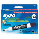 Expo® Low Odor Dry Erase Markers, Bullet Tip, Green