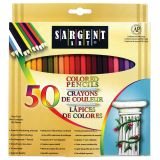 Sargent Art® Colored Pencils, 50 colors