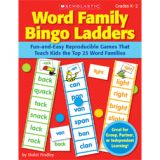 Daily Word Ladders, Grades K-1, 96 pages