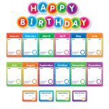 Color Your Classroom! Birthdays Mini Bulletin Board Set