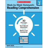 Week-by-Week Homework: Reading Comprehension, Grade 2