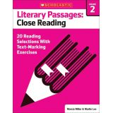 Literary Passages: Close Reading, Grade 2