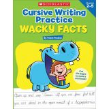 Cursive Writing Practice: Wacky Facts