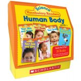 Human Body Science Vocabulary Readers