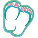 Creative Shapes Notepad, Flip Flops, Large
