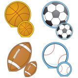 Creative Shapes Notepad, Sports Set, Large