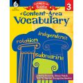 Getting to the Roots of Content-Area Vocabulary, Grade 3