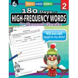 180 Days of High-Frequency Words, Grade 2