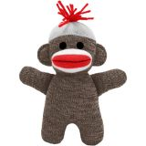 Sock Monkey Baby, Brown
