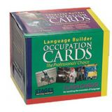 Language Builder Picture Cards, Occupations