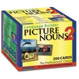 Language Builder Picture Cards, Nouns Set 2