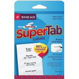 Smead® Erasable SuperTab® File Folder Labels, Pack of 160