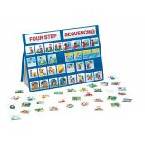 Table Top Pocket Chart Sets, Four-Step Sequencing