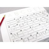 Manuscript Handwriting Templates, Transitional Uppercase