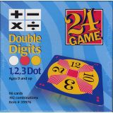 24 Game Card Decks, Double Digits, 96 Cards
