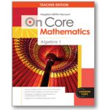 On Core Mathematics Bundle, Algebra 1