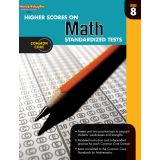 Higher Scores on Math Standardized Tests, Grade 8