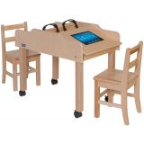 Mobile Double-Sided Technology Table