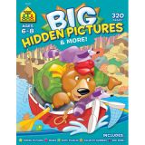 Big Workbook Alphabet, Big Hidden Pictures, Grades 1-3