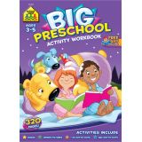 Big Workbook Preschool Activity