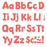 Playful Solids 4 Uppercase/Lowercase Ready Letters® Combo Pack, Coral