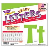 Playful Solids 4 Uppercase/Lowercase Ready Letters® Combo Pack, Lime