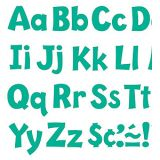 Playful Solids 4 Uppercase/Lowercase Ready Letters® Combo Pack, Teal