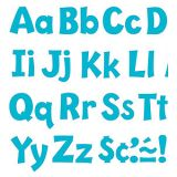 Playful Solids 4 Uppercase/Lowercase Ready Letters® Combo Pack, Sky Blue