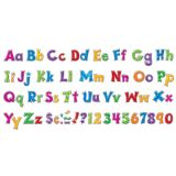 Furry Friends® Patchwork 4 Friendly Uppercase/Lowercase Ready Letters® Combo Pack