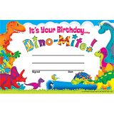 Dino-Mite Pals™ Birthday Recognition Awards