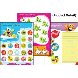 Wipe-Off® Book, Alphabet Superstar (Frog-tastic!®)