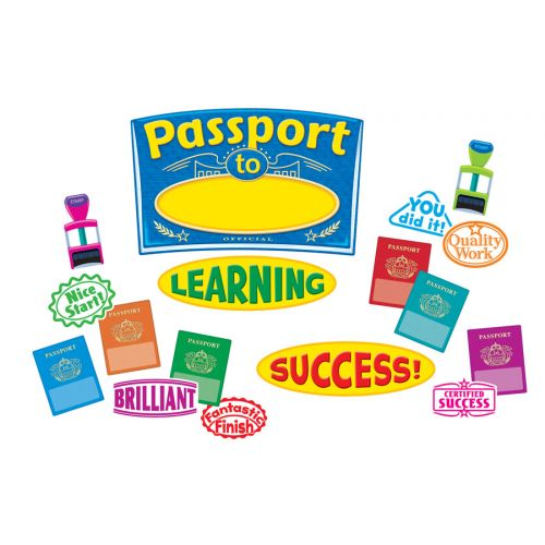 Passport to Learning Bulletin Board Set, T-8296