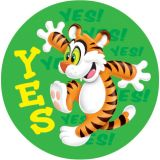 Awesome Animals Stinky Stickers®, Large Round