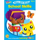 Wipe-Off® Book, School Skills