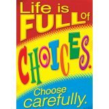 Life is Full of Choices. Choose Carefully. Argus® Poster