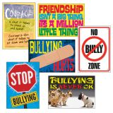 No Bully Zone Argus® Poster Combo Pack