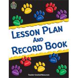Paw Prints Lesson Plan and Record Book