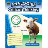 Analogies for Critical Thinking, Grade 4