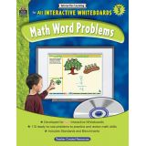 Math Word Problems for All Interactive Whiteboards, Grade 3