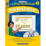Math Word Problems for All Interactive Whiteboards, Grade 5