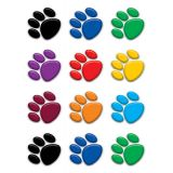 Colorful Paw Prints Accents, 5