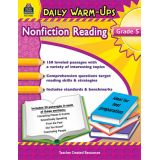 Daily Warm-Ups: Nonfiction Reading, Grade 5